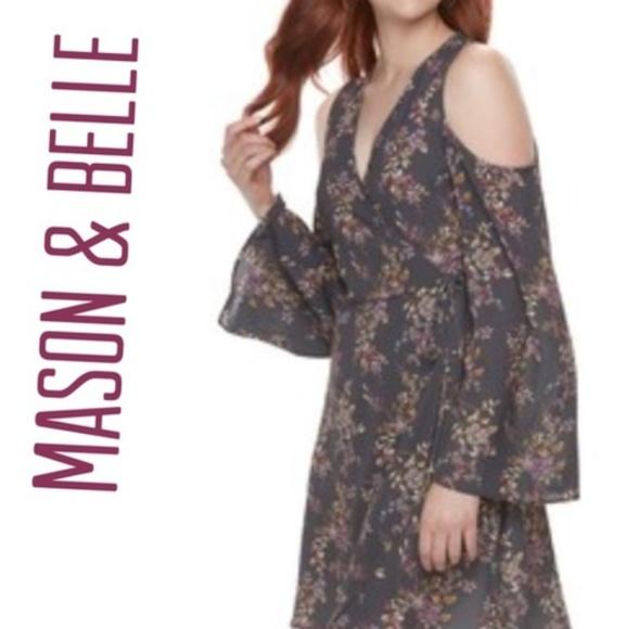 Mason & Belle Dresses & Skirts - Mason & Belle Cold Shoulder Dress NWT